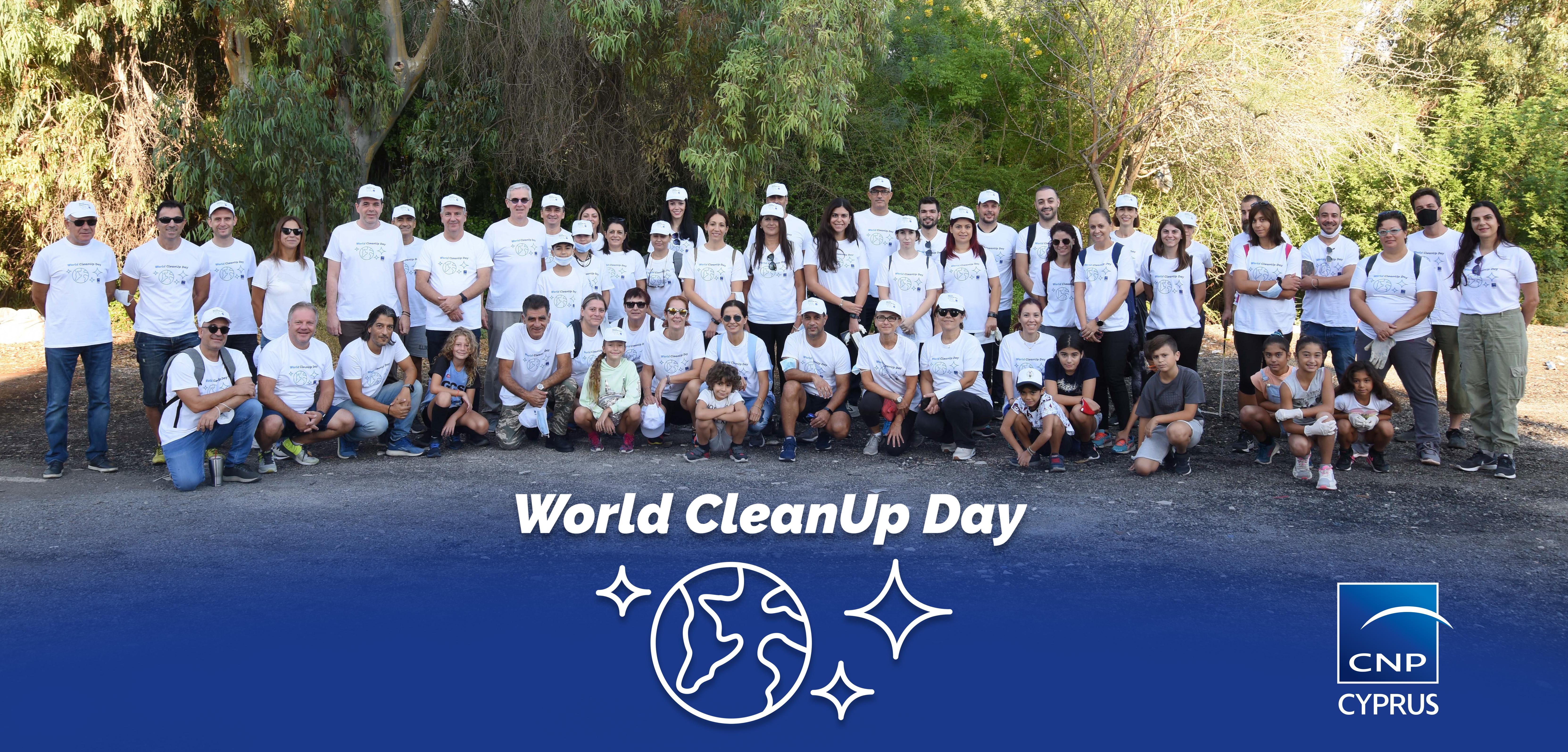 CNP Cyprus: «Ημέρα Καθαρισμού για το Περιβάλλον»