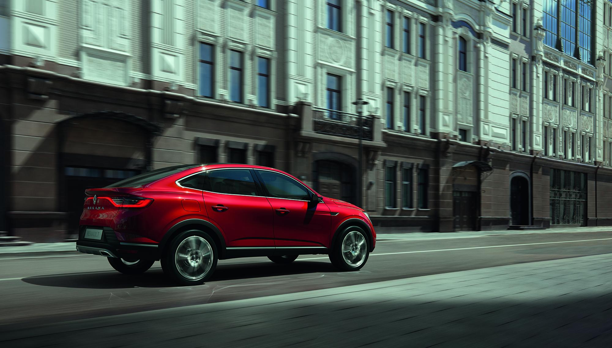 Εντελώς Νέο Renault Arkana: Πρεμιέρα για το συναρπαστικό SUV coupe