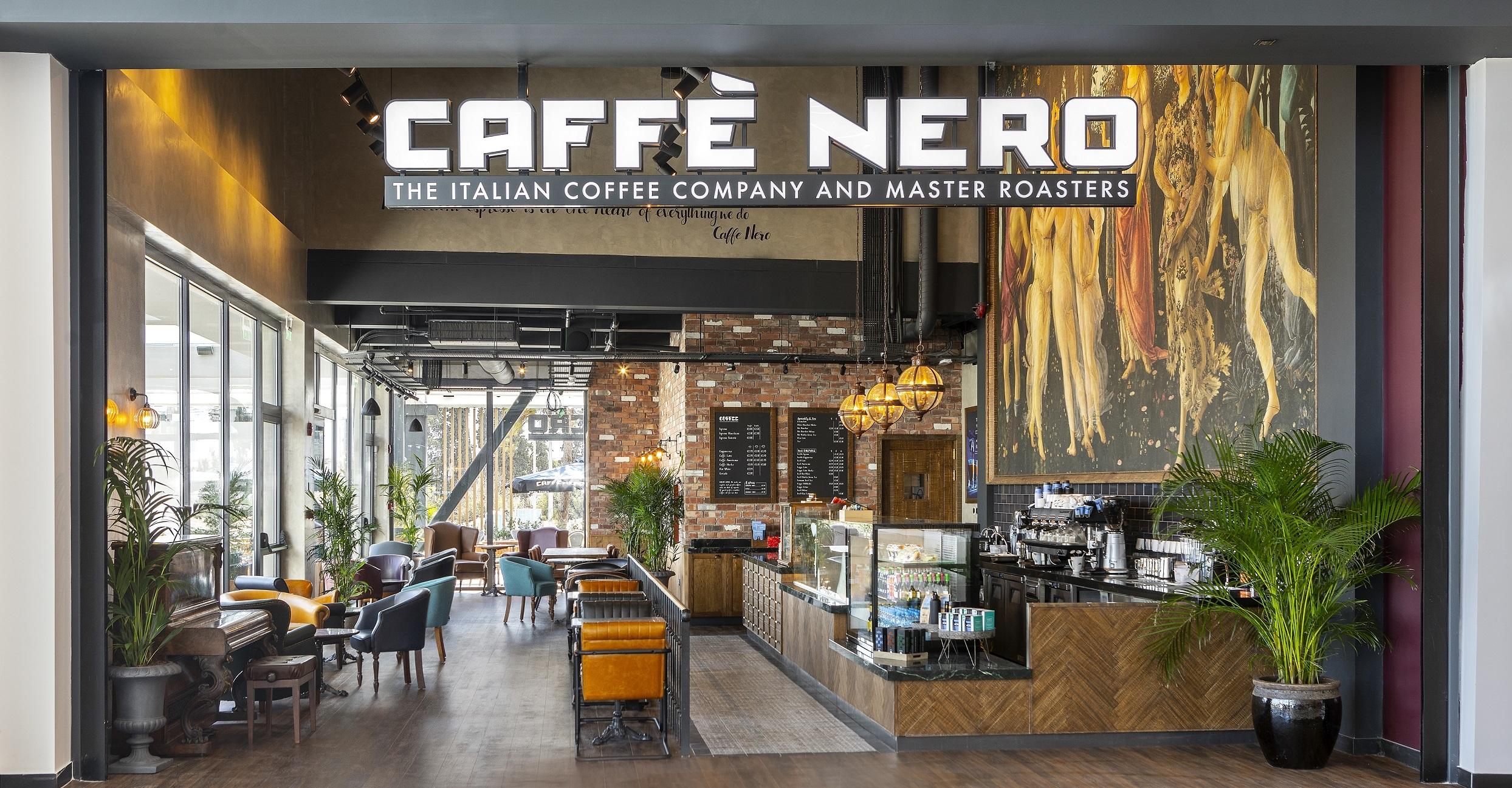 Νέο Caffè Nero στο Metropolis Mall
