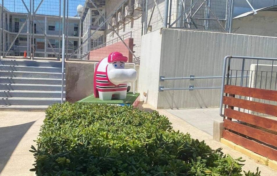 Δωρεά του γλυπτού PM Hippo στο Τσίρειο Δημοτικό Σχολείο