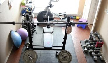 Όργανα γυμναστικής στο σπίτι για να διατηρήσουμε καλή υγεία και φόρμα