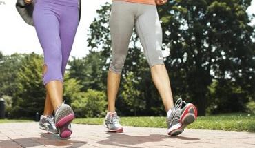 Περπατήστε πολύ- όχι απαραίτητα γρήγορα