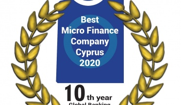Διεθνής βράβευση της Ellinas Finance ως Best Micro Finance Company Cyprus 2020