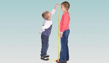 Η διατροφή καθορίζει σε μεγάλο βαθμό το ύψος των παιδιών