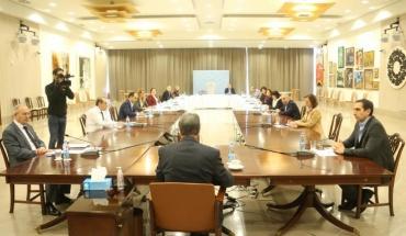 Σύσκεψη επιστημονικής ομάδας με ΠτΔ