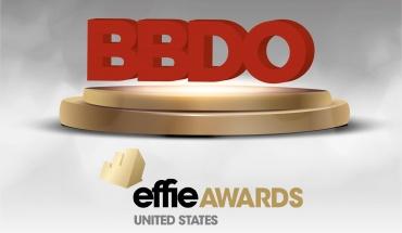 Η BBDO αναδεικνύεται το κορυφαίο δίκτυο των US Effie Awards 2021