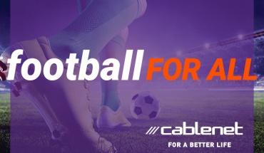 Παρέα με βραδιές UEFA για ακόμα 3 χρόνια οι Συνδρομητές της Cablenet!