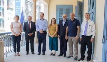 Η ανάπτυξη συνεργασιών στο επίκεντρο της επίσκεψης του Πρέσβη της Τσεχίας στο ΤΕΠΑΚ