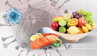 Η υγιεινή διατροφή αποτελεί σύμμαχο έναντι της COVID-19