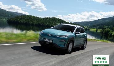Πέντε αστέρια GREEN NCAP για το Hyundai Kona Electric
